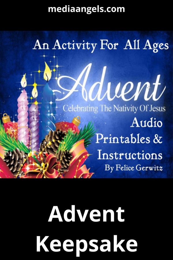 This Advent Calendar Set includes: Instructions on creating a simple Advent Calendar Scripture verses for each day A special place to write your own note to your children An audio presentation on Advent